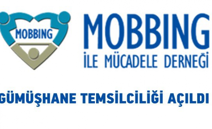 Mobbing İle Mücadele Derneği Gümüşhane Temsilciliği Açıldı