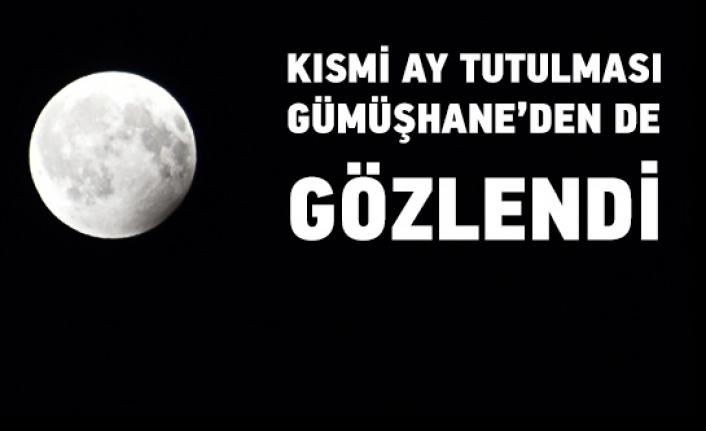Ay tutulması Gümüşhane'den de izlendi
