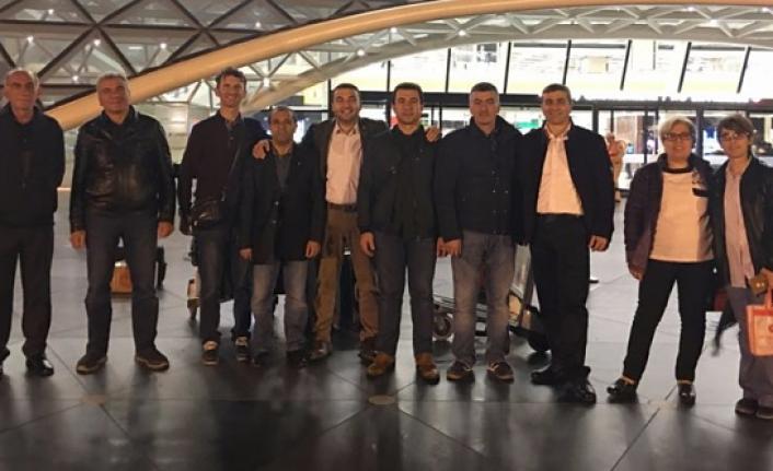 Gümüşhaneli pestilciler Azerbaycan gezisi için yola çıktı