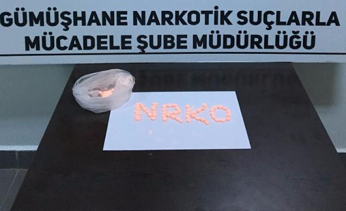 Torul'da uyuşturucu operasyonu