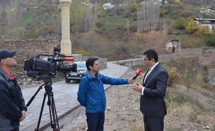 Vali Memiş, TRT'ye açıklamalarda bulundu