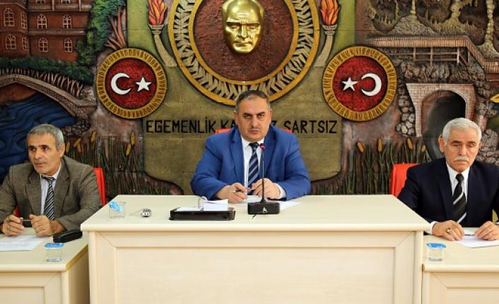 İl Genel Meclisi'nin aralık ayı toplantıları başladı