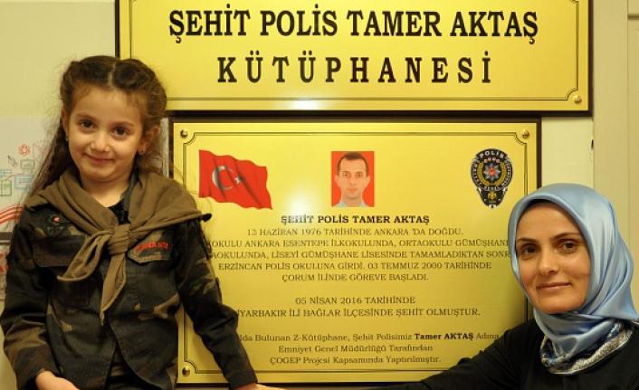 Şehit polisimizin ismi Z-Kütüphane'ye verildi