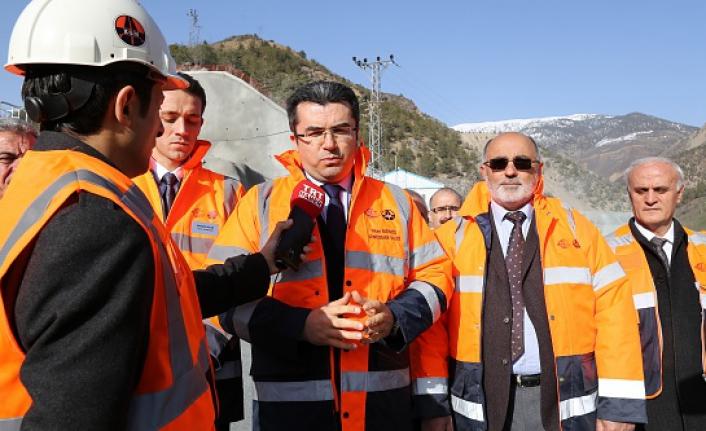 Yeni Zigana tünelinde yüzde 41 seviyesine ulaşıldı