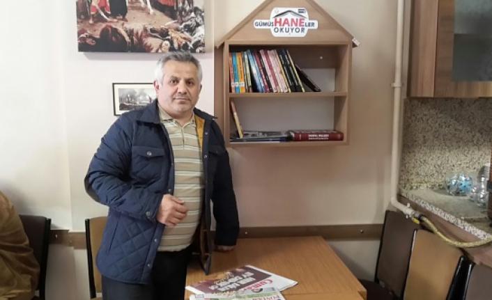 Eğitimci-Yazar İsmail Hayal'den kitap okuma projesine destek