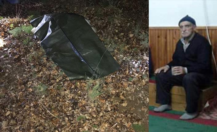 Mantar toplamaya giden yaşlı adam ölü bulundu
