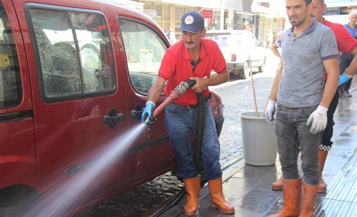 Belediye yaz temizliğine başladı