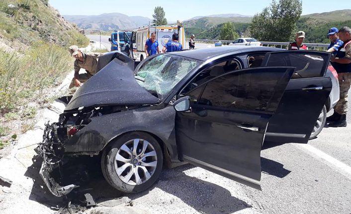 Pöske dağında trafik kazası: 1 ölü