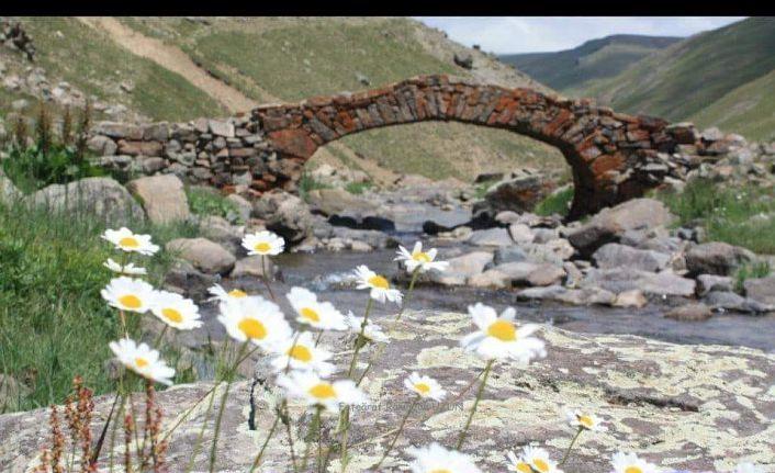 'Çalındı' denilen köprü 3 ay önce selde yıkılmış
