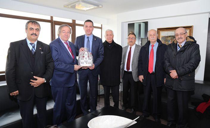 Başkent Gümüşhaneliler Derneğinden Ankara Barosuna ziyaret