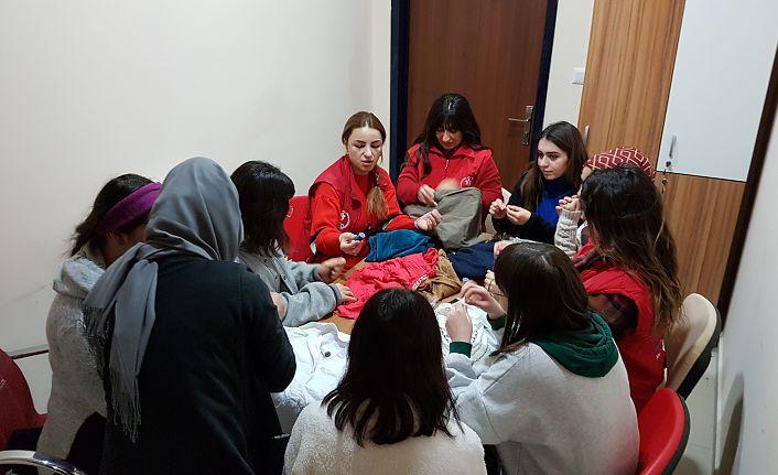 Gençlik Merkezinde 'Küçük Yaşam Becerileri' eğitimi
