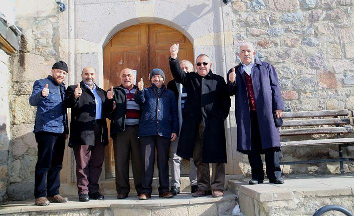 Gümüşhane'nin Ayasofya'sından ümmetin Ayasofya'sına destek