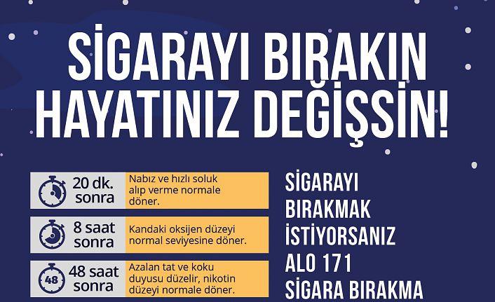 'Sigarayı bırakmak için 9 Şubat bir dönüm noktası olsun'