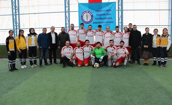 Sağlık-Sen'den futbol turnuvası