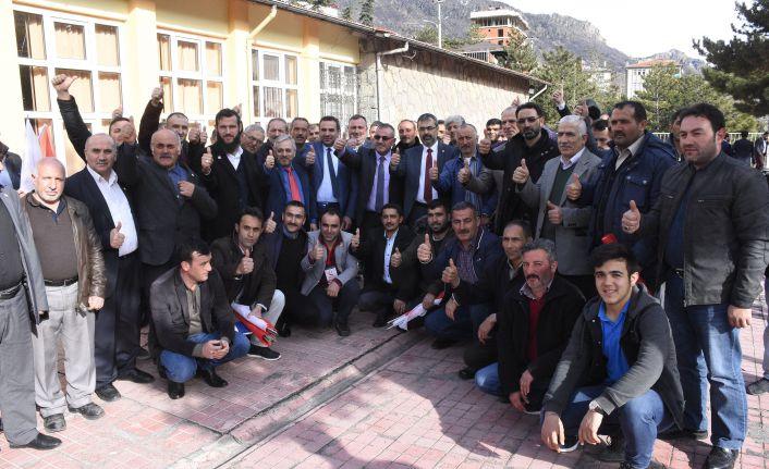 Yeniden Refah Partisinden aday tanıtım toplantısı
