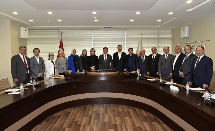 Gümüşhane Belediye Meclisi ilk toplantısını yaptı