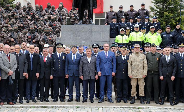 Gümüşhane'de Türk Polis Teşkilatının 174.kuruluş yıldönümü kutlandı