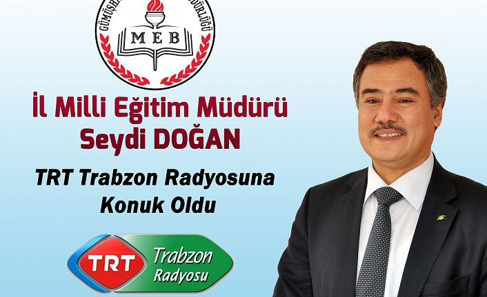 Doğan, TRT radyosunda GÜMÜŞKOD'u anlattı