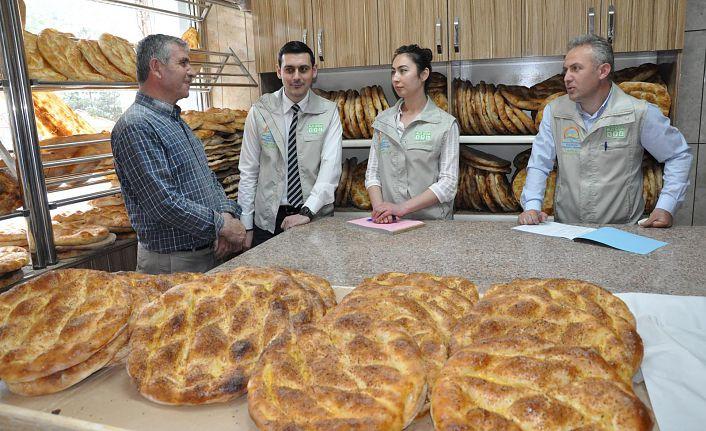 Gümüşhane'de gıda denetimlerinde Ramazan yoğunluğu