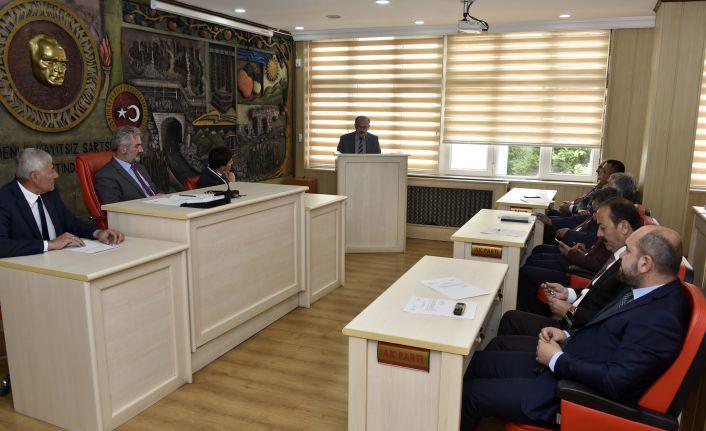 İl Genel Meclisinin Mayıs ayı toplantıları devam ediyor