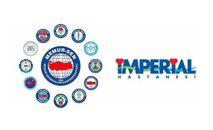 Memur-Sen üyelerine Trabzon İmperial Hastanesinde indirim