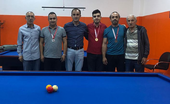 Bilardo il şampiyonası yapıldı