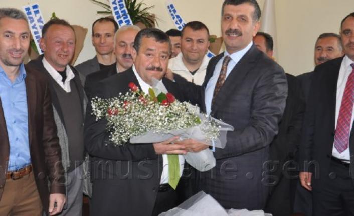 Kelkit Belediyesinde Devir Teslim Töreni Gerçekleşti