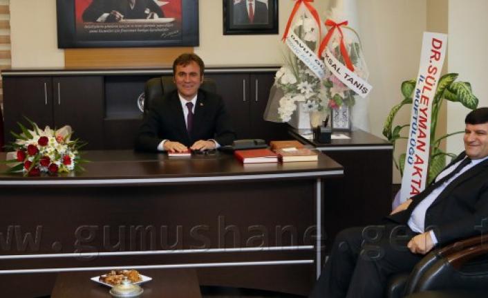 Vali Mayda'dan, Başkan Çimen'e Ziyaret