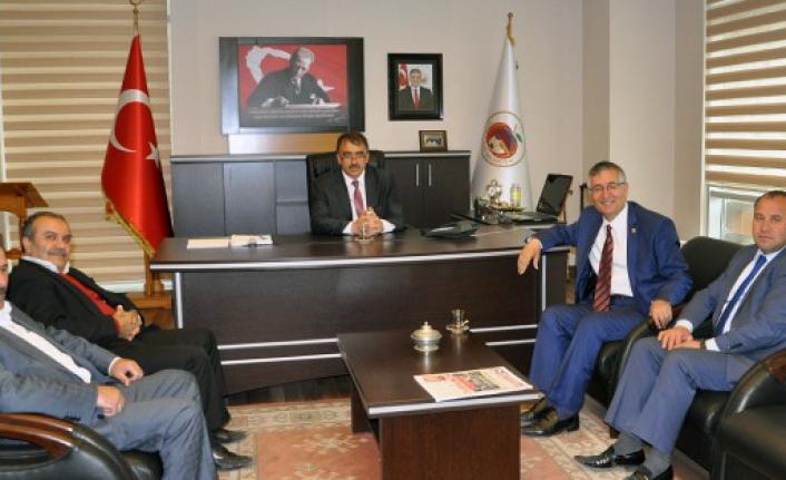 Yeniçeri'den Başkan Canlı'ya Destek Ziyareti