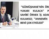 'ANNEMİN O İFADESİ BENİ ÇOK ETKİLEDİ'