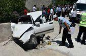 Gümüşhane'de trafik kazası: 1 ölü, 6 yaralı