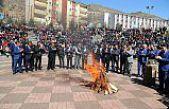 GÜ'de Nevruz Programı Coşkulu Bir Şekilde Kutlandı