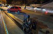 Otomobil ile kurye motoru çarpıştı: 1 ölü