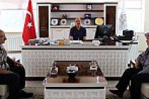Atakan'ın ailesinden Rektör Zeybek'e ziyaret