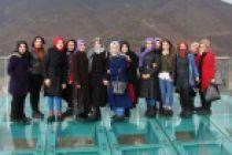 Torul Kalesi'nde soğuk, yağış kar etmiyor