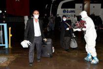 Belçika'dan getirilen 245 vatandaş Gümüşhane'de karantinada
