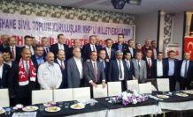 İstanbul Gümüşhane STK'larından MHP'li Adaylara Destek