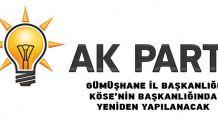 AK Parti Gümüşhane İl Yönetimi İstifa Etti