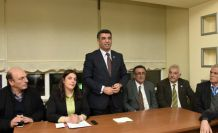 CHP Tunceli Milletvekili Gürsel Erol Gümüşhane'de