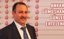 Ankara Gümüşhane Günleri ertelendi