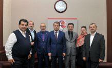 Gümüşhanelilerden Eskişehir Valisi Çelik'e hayırlı olsun ziyareti