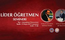 GÜ'de 'Lider Öğretmen' semineri düzenlenecek