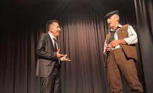 Dernek başkanı muhtar, yardımcısı öğretmen rolünde