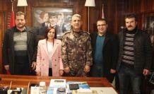 Başkan Bostancı sorunları Karataş'a iletti