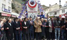 Torul'da Trabzonspor izdihamı