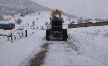 Gümüşhane'de 50 köy yolu ulaşıma kapandı