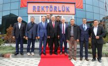 Sungurlu'dan Rektör Zeybek'e ziyaret