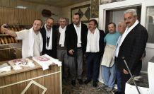 Başkan Çimen'den esnaf ziyaretleri