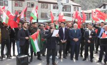 Gazze için toplandılar