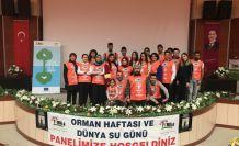 Genç TEMA'dan Orman Haftası ve Dünya Su Günü paneli